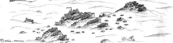 Illustration mer des sables